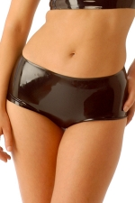 Mini short latex HotPants : Mini short moulant en latex haute qualité.